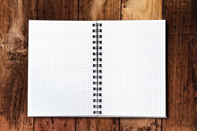 使用済みノートは古紙回収?